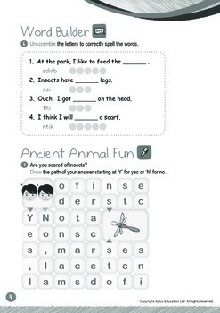 Ancient Animals - Ancient Animals Alive Today (IV): Word Family IT - K3 (age 5)