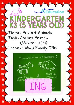 Ancient Animals - Ancient Animals (IV): Word Family ING -
