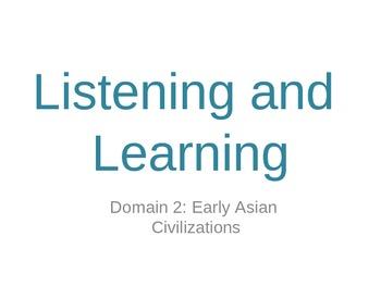 Ancient Asian Civilizations Lessons 1-6