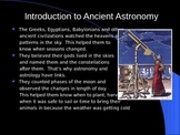 Ancient Astronomy /Galaxy in our Solar System
