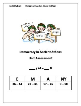 Ancient Athens Unit Test
