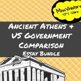 Ancient Athens and US Government Comparison Essay Bundle