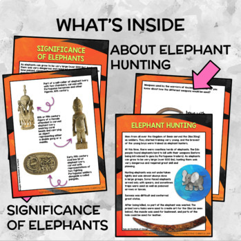 Ancient Benin Study: Write an Information Text about Poaching