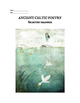 Ancient Celtic (8-10th Century) Poetry package with assignment / worksheet
