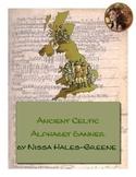 Ancient Celtic Alphabet Banner