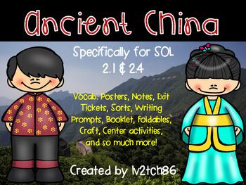 Ancient China 2.1 and 2.4