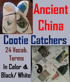 Ancient China Activity (Silk Road, 12 Dynasties, Genghis Khan etc)