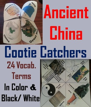 Ancient China Activity (Silk Road, 12 Dynasties, Genghis Khan etc)