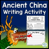 Ancient China Activities - Write your own Chinese Legend - Ancient China Writing