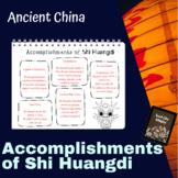 Ancient China: Accomplishments of Shi Huangdi