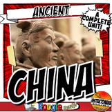 Ancient China Unit Plan Activity & Note Bundle Common Core Grades 5-8