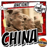 Ancient China Unit Plan Activity & Note Bundle Common Core