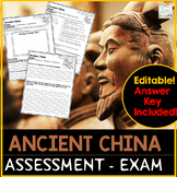 Ancient China Assessment Exam
