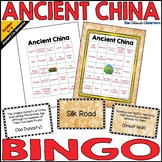 Ancient China Bingo