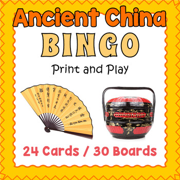 Ancient China Bingo Game
