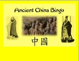 Ancient China Bingo Game for History/Social Studies