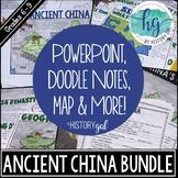 Ancient China Bundle {Xia,Shang,Zhou,Qin,Han} (Print and Digital)