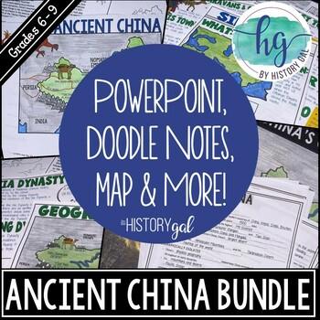 Ancient China Bundle {Xia,Shang,Zhou,Qin,Han}
