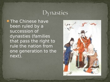 Ancient China Civilization PPT editable