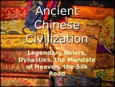 Ancient China Civilization PPT editable