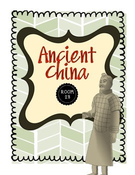 Ancient China Civilization Unit Handouts & Worksheets