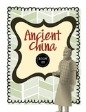 Ancient China Civilization Unit Handouts & Worksheets