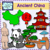 Ancient China Clip Art {Social Studies clipart}