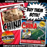 Ancient China Complete Unit and Google Ready Combined Acti
