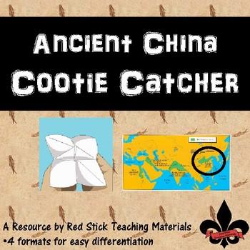 Ancient China Cootie Catcher