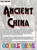 Ancient China DIGITAL Interactive Notebook! Google Drive INB for Ancient China!