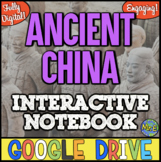 Ancient China Distance Learning Digital Interactive Notebook   Google Ready