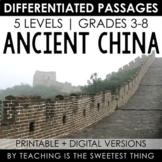 Ancient China: Passages