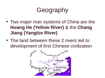 Ancient China, Dynasties & Confucianism