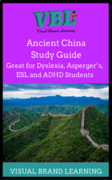 Ancient China ESL /Distance Learing/ Study Guides in both English and Spanish