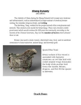 Ancient China Gallery Walk