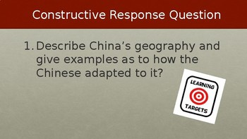 Ancient China Geography & Early Culture Lecture PowerPoint