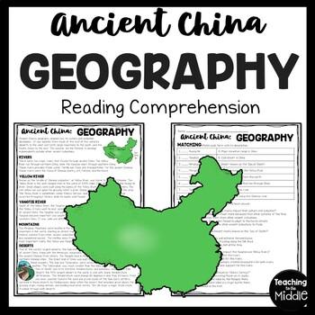 Ancient China Geography Reading Comprehension, Gobi, Himalayas