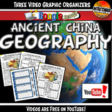 Ancient China Geography YouTube Video Graphic Organizer Se
