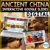 Ancient China Google Classroom Distance Learning |  China