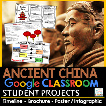 Ancient China Google Classroom Projects