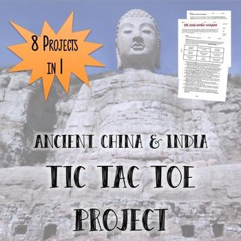 Ancient China & India Tic Tac Toe Project
