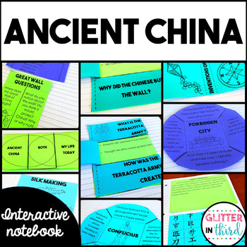 Ancient China Social Studies Interactive Notebook