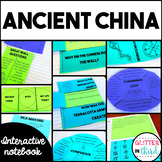 Ancient China Activities Interactive Notebook BUNDLE