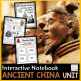 Ancient China Interactive Notebook | Distance Learning History Google Classroom