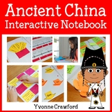 Ancient China Interactive Notebook with Scaffolded Notes