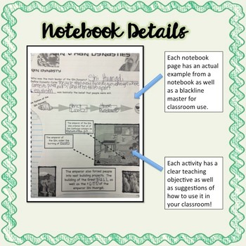 Ancient China Interactive Notebook and Resource Bundle