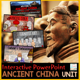 Ancient China PowerPoint | Google Slides | Google Classroom Distance Learning