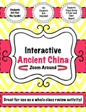 "Ancient China Game Task Cards ""Zoom Around"" (Whole Class Theatrical Game)"
