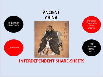 Ancient China:  Interdependent Share-Sheets Activity
