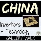 China Inventions Student-created gallery walk